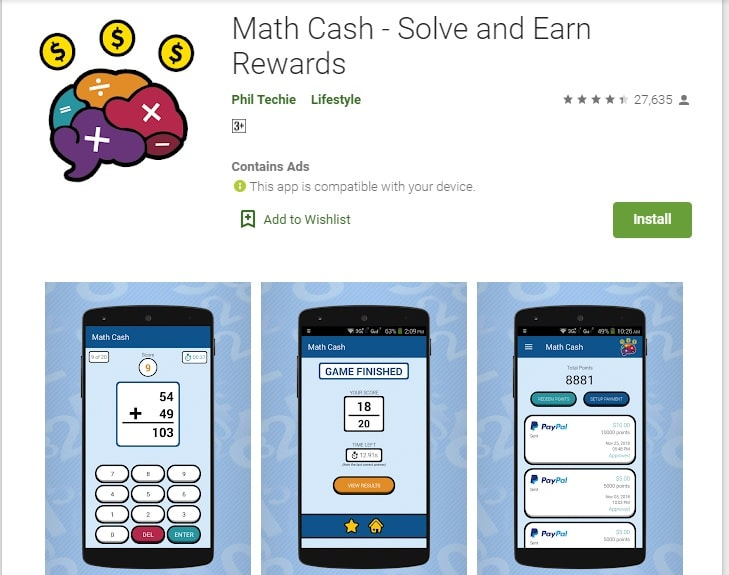 android apps that pay you money