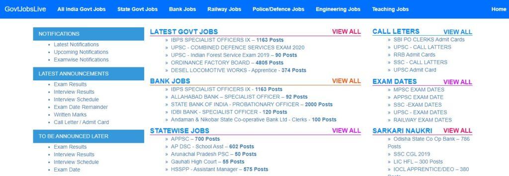 Best websites for government job preparation