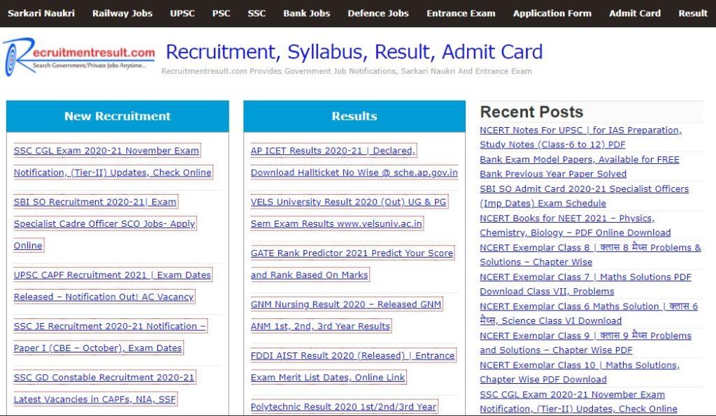 Best websites for government job alerts