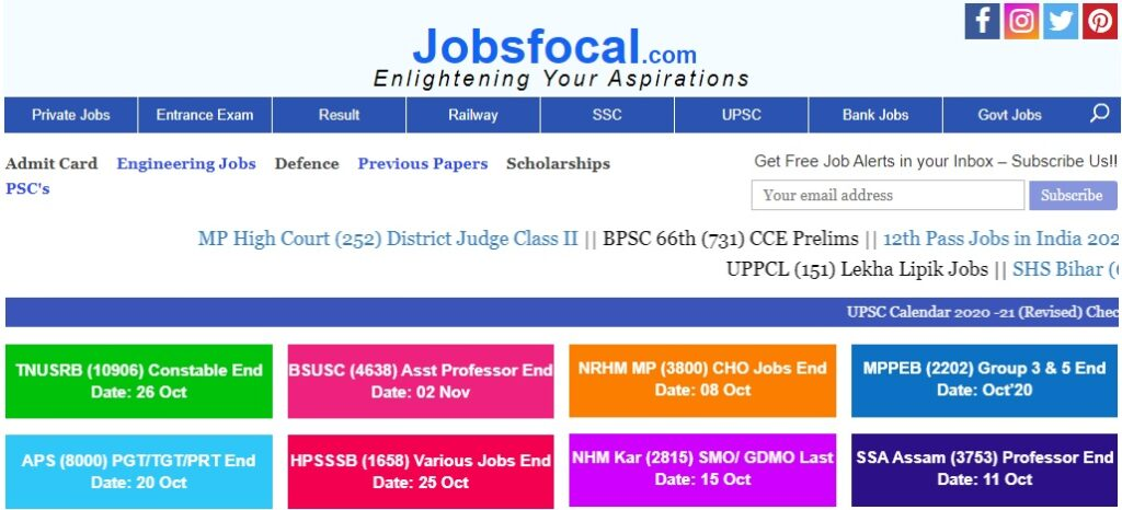 Jobsfocal