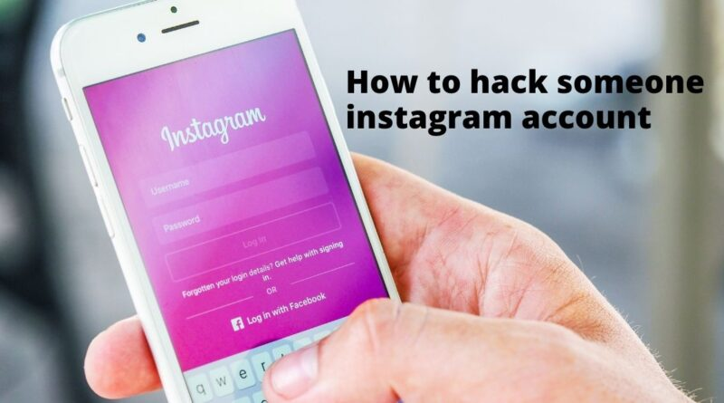 how to hack into Instagram